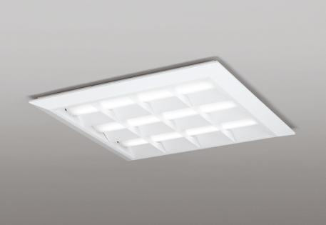 【最大44倍お買い物マラソン】オーデリック XL501053P1D(LED光源ユニット別梱) ベースライト LEDユニット型 直付/埋込兼用型 PWM調光 温白色 調光器・信号線別売 ルーバー付