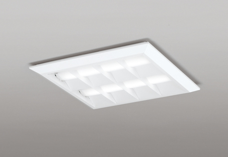 【最安値挑戦中!最大25倍】オーデリック XL501055P2D(LED光源ユニット別梱) ベースライト LEDユニット型 直付/埋込兼用型 PWM調光 温白色 調光器・信号線別売 ルーバー付