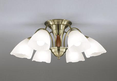 【最大44倍スーパーセール】オーデリック OC006917ND2(ランプ別梱) シャンデリア LEDランプ 非調光 昼白色 真鍮ブロンズメッキ/オーク ~8畳