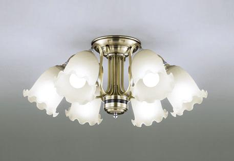 【最大44倍スーパーセール】オーデリック OC006927NC1(ランプ別梱) シャンデリア LEDランプ 連続調光 昼白色 リモコン付属 真鍮ブロンズメッキ ~8畳
