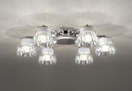 【最大44倍スーパーセール】オーデリック OC257138 シャンデリア LED一体型 連続調光 電球色 調光器別売 ねじ込方式 クロームメッキ ~8畳