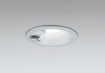 【最安値挑戦中!最大25倍】オーデリック OD261996 ダウンライト LED一体型 昼白色 防雨型 浅型 埋込穴φ100 人感センサ付 マットシルバー