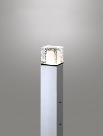 【最安値挑戦中!最大25倍】オーデリック OG254880ND(ランプ別梱) エクステリアガーデンライト LEDランプ 昼白色 地上高400 防雨型 マットシルバー