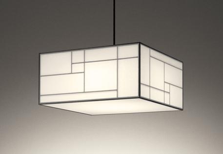 【最安値挑戦中!最大25倍】オーデリック OP252685 和風ペンダントライト LED一体型 Bluetooth 調光調色 リモコン付属 白木(オイルスチン) ~8畳 [(^^)]