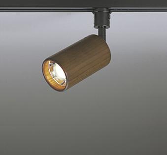 【最安値挑戦中!最大25倍】オーデリック OS256060WD スポットライト LEDランプ 非調光 温白色 回転350度 黒/木材ウォールナット