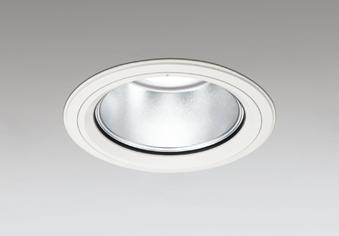 【最大44倍お買い物マラソン】オーデリック XD404045 ダウンライト LED一体型 温白色 銀色コーン 電源装置別売 防雨型 埋込穴φ150 オフホワイト