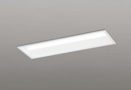 【最大44倍お買い物マラソン】オーデリック XD504001P1D(LED光源ユニット別梱) ベースライト LEDユニット型 非調光 温白色 下面開放型(幅220) FL20W相当