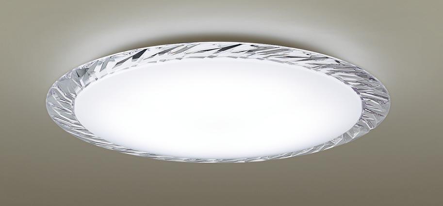 【最安値挑戦中!最大25倍】パナソニック LGC31125 シーリングライト 天井直付型 LED(昼光色~電球色) リモコン調光・調色 カチットF ~8畳 クリスタルカット調