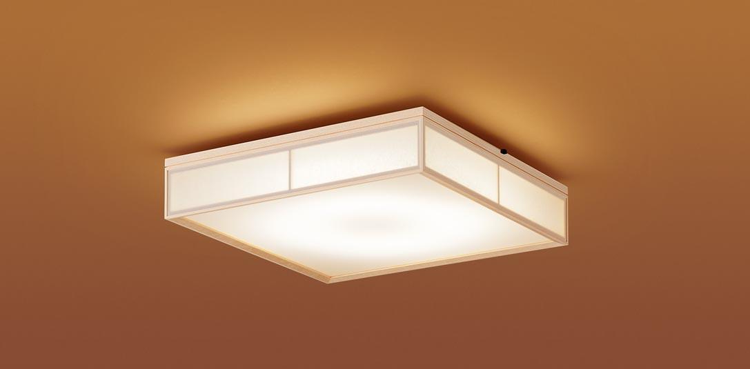 【最安値挑戦中!最大25倍】パナソニック LGC35811 和風シーリングライト 天井直付型 LED(昼光色~電球色) リモコン調光・調色 カチットF 数寄屋 パネル付型 ~8畳 白木枠