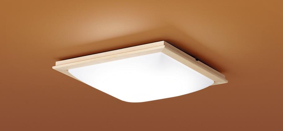 【最安値挑戦中!最大25倍】パナソニック LGC45812 和風シーリングライト 天井直付型 LED(昼光色~電球色) リモコン調光・調色 カチットF ~10畳 白木枠