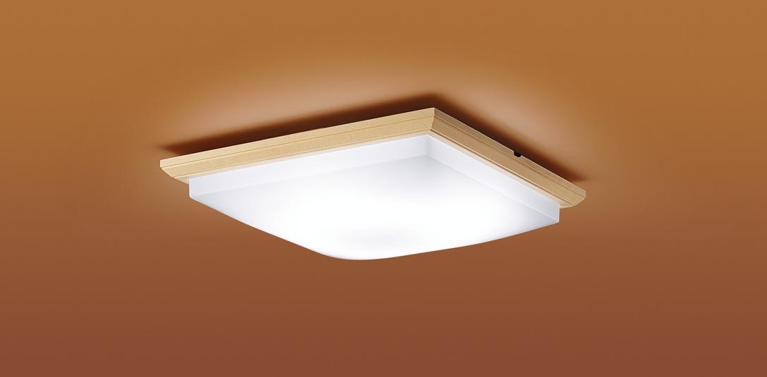 【最安値挑戦中!最大25倍】パナソニック LGC45813 和風シーリングライト 天井直付型 LED(昼光色~電球色) リモコン調光・調色 カチットF ~10畳 白木枠