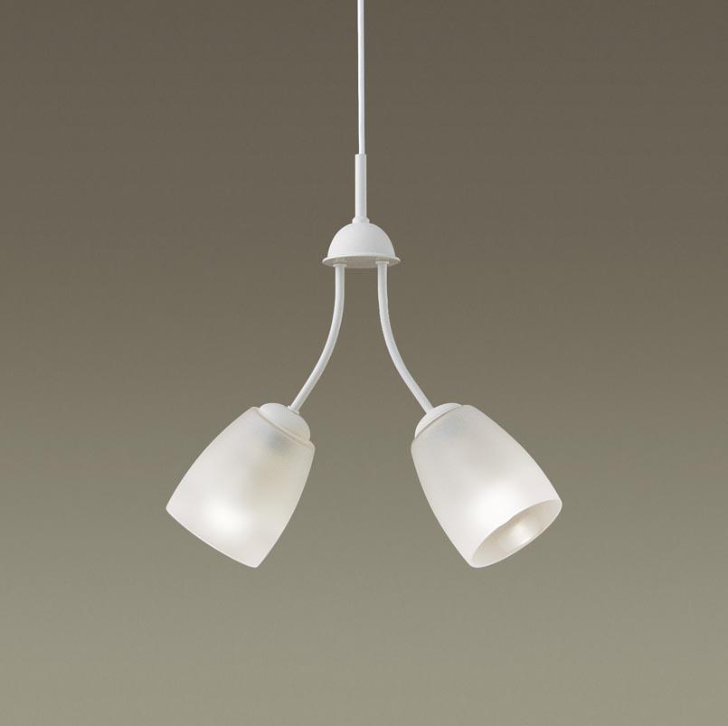 【最大44倍スーパーセール】パナソニック LGB19204Z シャンデリア 直付吊下型LED(電球色) 50形電球2灯器具相当