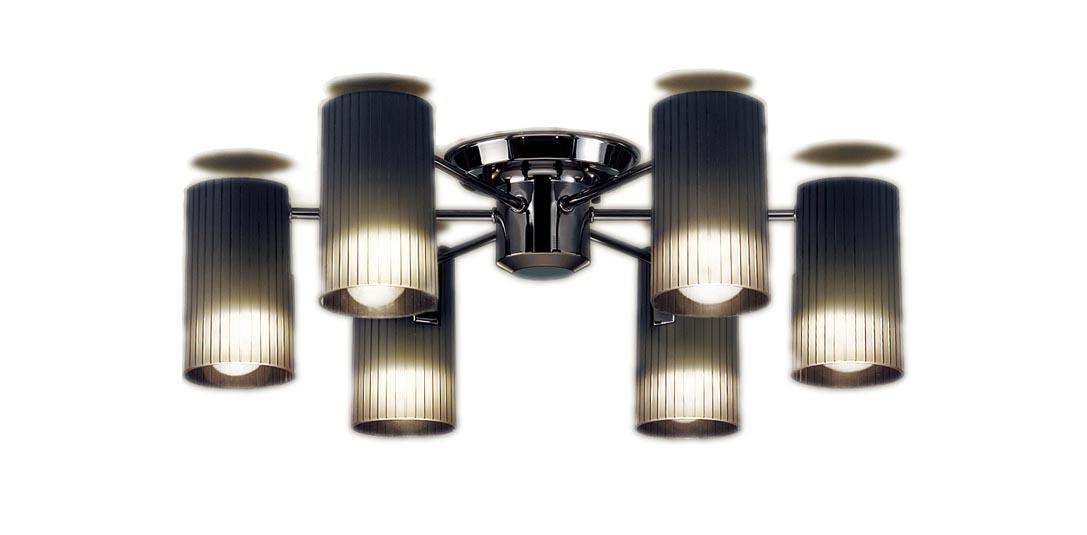 【最大44倍スーパーセール】パナソニック LGB57651K シャンデリア 天井直付型 LED(電球色) 白熱電球40形6灯器具相当