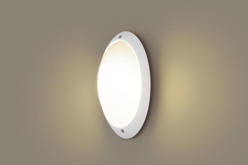 【最大44倍スーパーセール】パナソニック LGW85055WZ ポーチライト 壁直付型 LED(電球色) 防雨型 白熱電球60形1灯器具相当 ホワイト