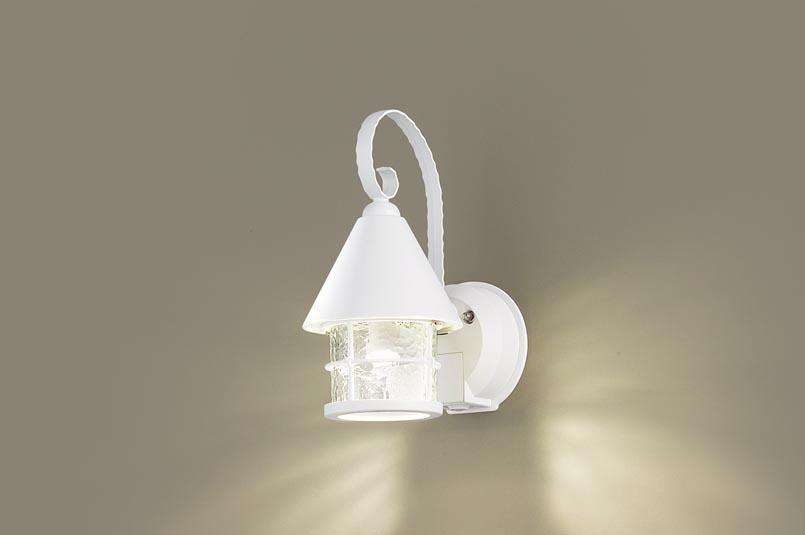 【最安値挑戦中!最大25倍】パナソニック LGWC85044WK ポーチライト 壁直付型 LED(電球色) 密閉型 防雨型・FreePaお出迎え・明るさセンサ付・点灯省エネ型