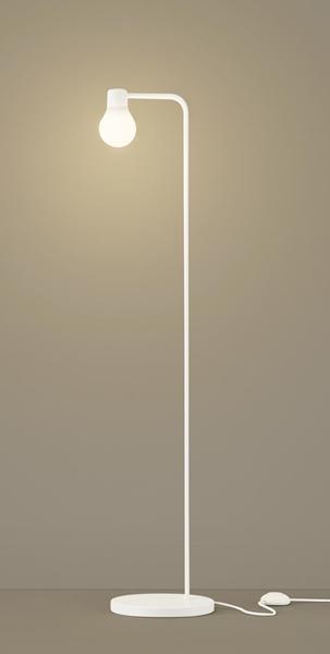 【最安値挑戦中!最大34倍】パナソニック SF918W スタンドライト 床置型 LED(電球色) フロアスタンド 拡散タイプ・フットスイッチ付 白熱電球60形1灯器具相当 ホワイト [∽]