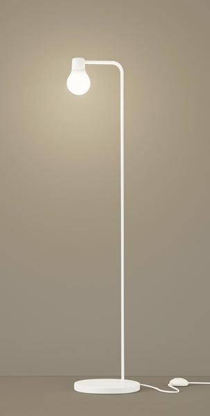 【最安値挑戦中!最大25倍】パナソニック SF919W スタンドライト 床置型 LED(温白色) フロアスタンド 拡散タイプ・フットスイッチ付 白熱電球60形1灯器具相当 ホワイト