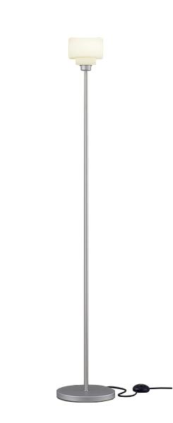 【最安値挑戦中!最大34倍】パナソニック SF965SZ スタンドライト 床置型 LED(電球色) フロアスタンド フットスイッチ付 白熱電球25形1灯器具相当 シルバー [∽]