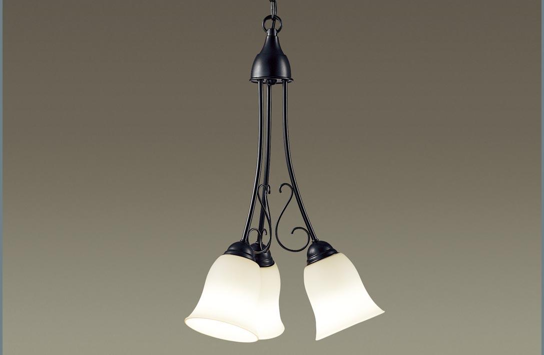 【最大44倍スーパーセール】パナソニック LGB19345K シャンデリア 吊下型 LED(電球色) 直付タイプ 白熱電球60形3灯器具相当/~4.5畳