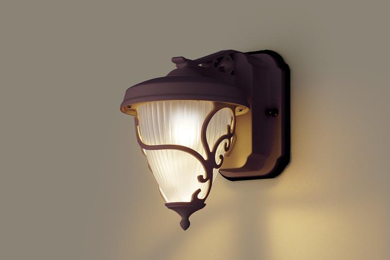 【最安値挑戦中!最大25倍】照明器具 パナソニック LGW80240LE1 ポーチライト 壁直付型 LED 電球色 60形電球1灯相当・密閉型 防雨型
