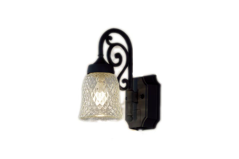 【最安値挑戦中!最大34倍】パナソニック LGWC85203BK ポーチライト 壁直付型 LED(電球色) 密閉型 防雨型 センサあり オフブラック [∀∽]