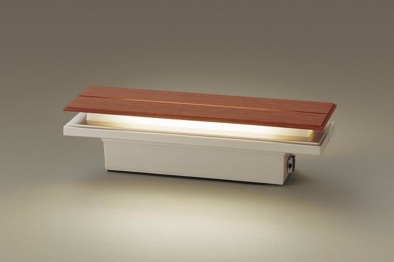 【最安値挑戦中!最大34倍】パナソニック LGWJ50128KLE1 門柱灯・門袖灯 壁直付型・据置取付型 LED(電球色) 拡散タイプ 防雨型・明るさセンサ付 パネル付型 [∀∽]