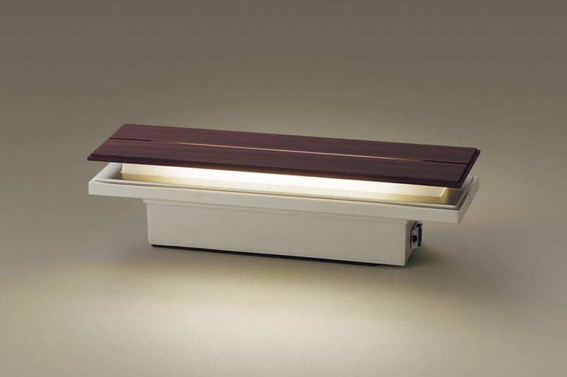 【最安値挑戦中!最大24倍】パナソニック LGWJ50129KLE1 門柱灯・門袖灯 壁直付型・据置取付型 LED(電球色) 拡散タイプ 防雨型・明るさセンサ付 パネル付型 [∀∽]