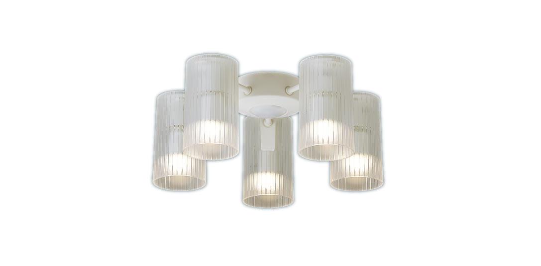 【最大44倍お買い物マラソン】パナソニック SPL5512Z シャンデリア シーリングファン専用 LED(電球色) 白熱電球60形5灯器具相当 ~10畳