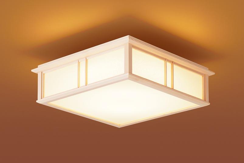 【最安値挑戦中!最大25倍】パナソニック LGB53016LE1 シーリングライト LED(電球色) 40形ツインパルックプレミア蛍光灯1灯相当 拡散タイプ 白木