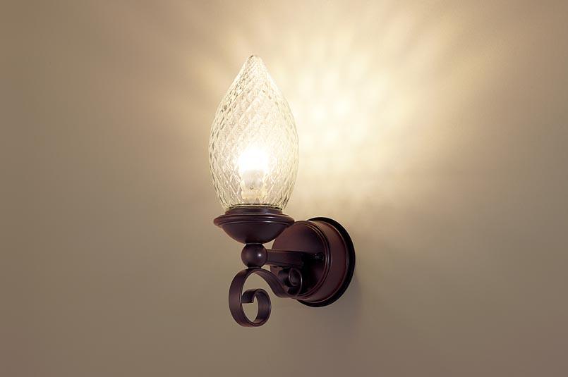 【最安値挑戦中!最大25倍】パナソニック LGW85025Z ポーチライト 壁直付型 LED(電球色) 密閉型 防雨型 ダークブラウン