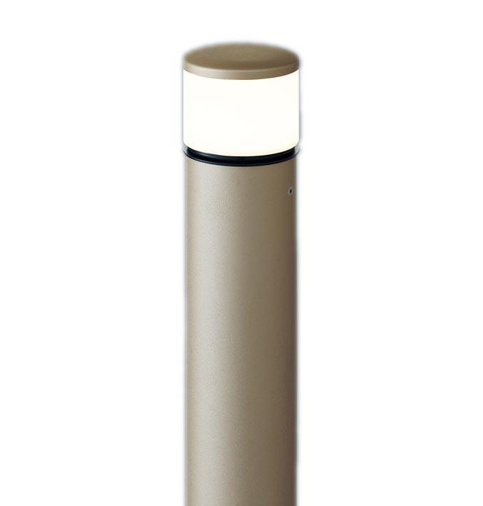 【最安値挑戦中!最大24倍】パナソニック XLGE5042YZ エントランスライト 地中埋込型 LED(電球色) 防雨型/地上高784mm 白熱電球40形1灯器具相当 プラチナ [∽]