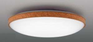 【最安値挑戦中!最大25倍】東芝ライテック LEDH81475-LC シーリングライト LED一体形 調光・調色 電球色~昼光色 リモコン同梱 ミディアムブラウン ~8畳