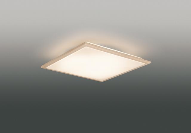 【最安値挑戦中!最大25倍】東芝ライテック LEDH84756-LC 和風照明 シーリングライト LED一体形 調光・調色 電球色~昼光色 キレイ色 あとからリモコン別売 ~10畳 白木枠