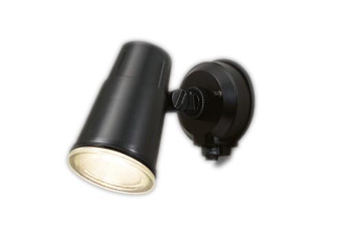 【最大44倍お買い物マラソン】東芝ライテック LEDS88900Y(K)M アウトドア LEDスポットライト ON/OFFセンサー ブラック ランプ別売