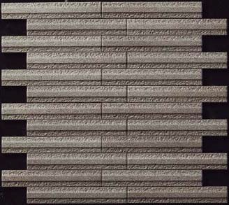 【coordiroom】LIXIL 【ECP-2515N1/GLN4(ダークグレー) 4シート/ケース】25×151角片面小端施釉(短辺)ネット張り グラナス ライン エコカラットプラス[♪]