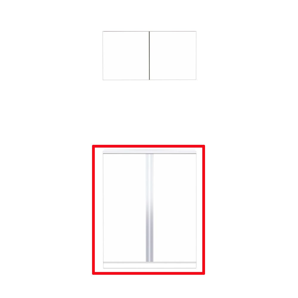 【最安値挑戦中!最大25倍】マイセット S5-90F プラスワン S5 玄関収納 2点組合せタイプ フロアユニットのみ 間口90cm 奥行35.8cm [♪▲]