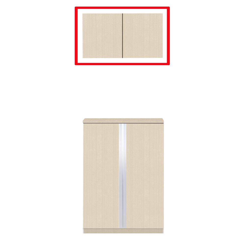 【最大44倍スーパーセール】マイセット Y3-80U ベーシック Y3 玄関収納 2点組合せタイプ 天袋ユニットのみ 間口80cm 奥行35.8cm [♪▲]