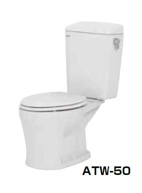 【最安値挑戦中!最大23倍】簡易水洗便器 ネポン ATW-50B プリティーナ エロンゲート 便座なし 手洗栓なし ホワイト [♪■] 【関東限定】