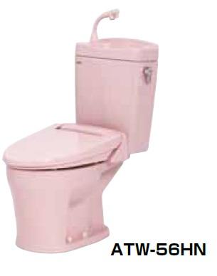 【最安値挑戦中!最大34倍】簡易水洗便器 ネポン ATW-56HN プリティーナ エロンゲート 暖房便座 手洗栓付 ピンク [♪■] 【関東限定】