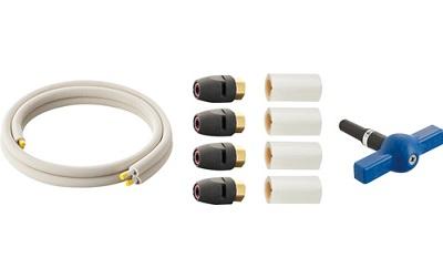 【最安値挑戦中!最大24倍】水栓金具 三栄水栓 T102T-2YS-13AX3-10 ヒートポンプ専用配管セット [□]