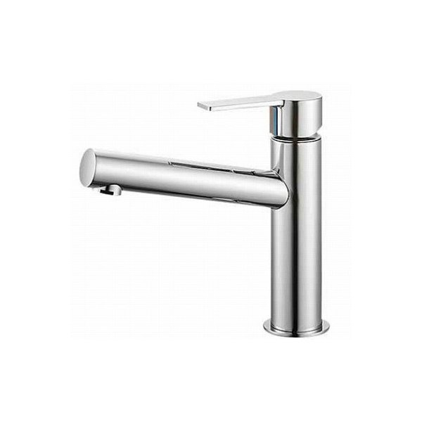 【最安値挑戦中!最大34倍】水栓金具 三栄水栓 K4750NV-13 シングルワンホール洗面混合栓 [□]