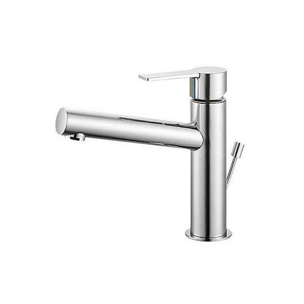【最安値挑戦中!最大25倍】水栓金具 三栄水栓 K4750PV-13 シングルワンホール洗面混合栓 [□]