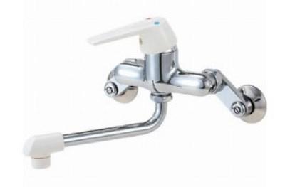 【最安値挑戦中!最大24倍】水栓金具 三栄水栓 CK1700DK-13 混合栓 寒冷地 シングル混合栓 [□]