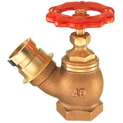 【最安値挑戦中!最大25倍】水栓金具 三栄水栓 V18-65 消火栓 差込45° [□]