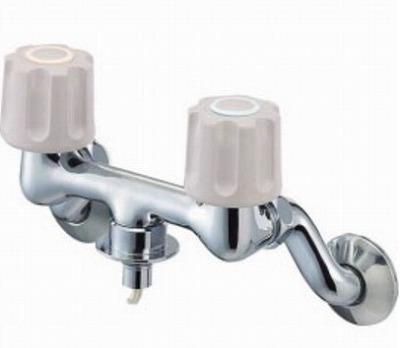 【最安値挑戦中!最大31倍】水栓金具 三栄水栓 K1101TVK-1-LH-13 寒冷地 ツーバルブ洗濯機用混合栓 [□]