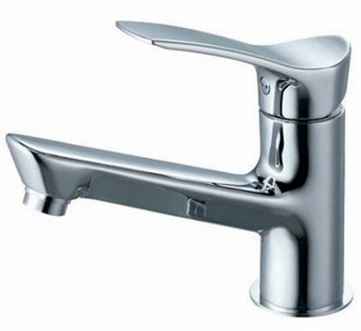 【最安値挑戦中!最大34倍】水栓金具 三栄水栓 K4712NJV-13 シングルワンホール洗面混合栓 [□]