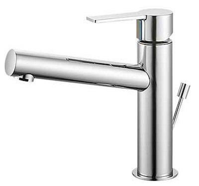 【最安値挑戦中!最大23倍】水栓金具 三栄水栓 K4750PV-13 シングルワンホール洗面混合栓 [□]