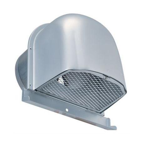 【最安値挑戦中!最大25倍】換気口 西邦工業 CFND200MC 外壁用アルミ製換気口 深型フード(ワイド水切り付)金網型 7x14ラス網 [♪■]