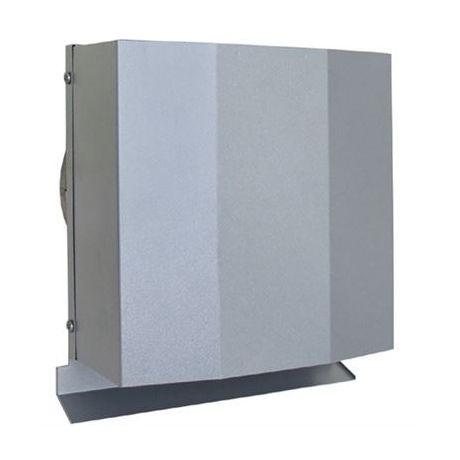 【最安値挑戦中!最大25倍】換気口 西邦工業 FFND200SC 外壁用ステンレス製換気口 パイプフード 金網型3メッシュ (厚型・金網) [♪■]