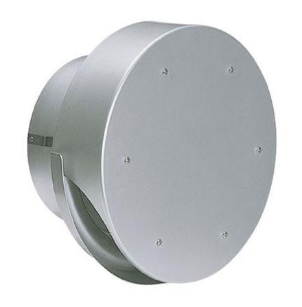 【最安値挑戦中!最大25倍】換気口 西邦工業 SXU250M 外壁用アルミ製換気口 薄型フラットフード(水切り付)ガラリ型 [♪■]